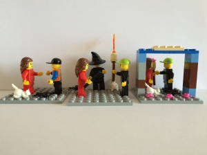 Stories coming to life using lego.